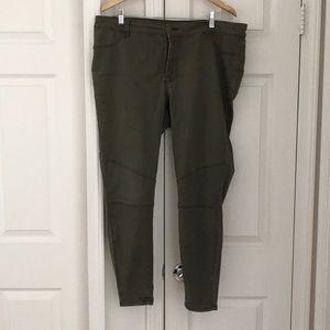 Green army pants.